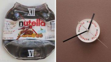 """Orologio Nutella """"fai da te"""": idee e foto"""