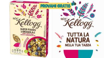 Provami gratis Kellogg Italia