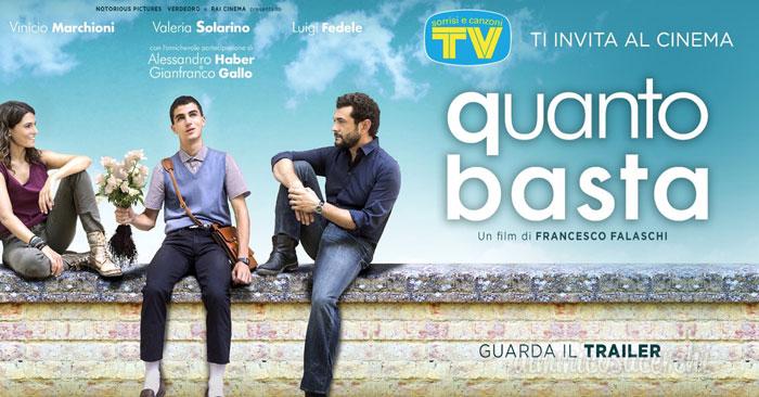 "Anteprima gratuita film ""Quanto Basta"" con Tv e Sorrisi"