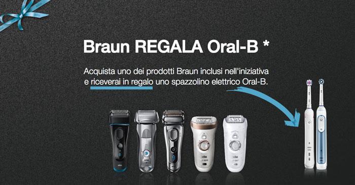 Braun regala Braun: in regalo lo spazzolino elettrico Oral-B