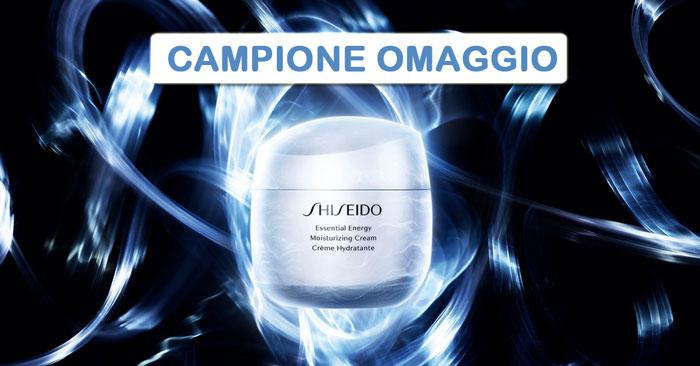 Campione omaggio Shiseido Essential Energy