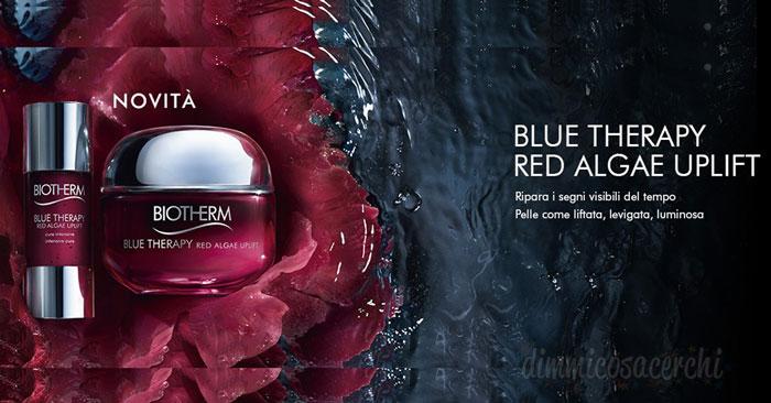 Campione omaggio Therapy Red Algae Uplift Crema di Biotherm
