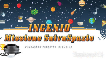 """Concorso Lagostina """"Missione Salvaspazio"""": vinci pentole Ingenio Essential"""