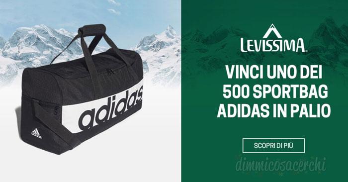 Concorso Levissima: vinci la borsa sport Adidas