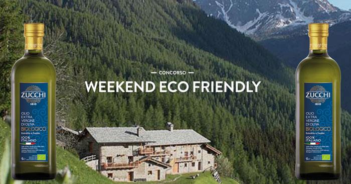 Concorso Olio Zucchi: vinci soggiorni weekend Eco Friendly
