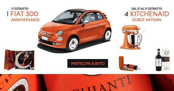 Concorso Orange Moments: vinci Fiat 500, Kitchenaid e altri premi!