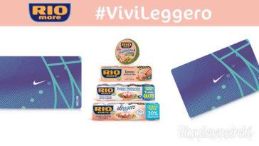 """Concorso Rio Mare """"Vivi Leggero"""": vinci subito gift card Nike da 200€"""