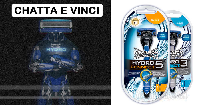 Contest Wilkinson: chatta e vinci rasoi Hydro Connect