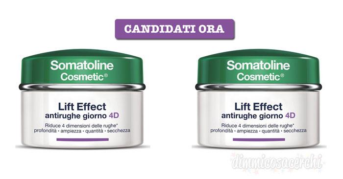 Diventa tester Somatoline Lift Effect 4D