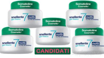 Diventa tester Somatoline Snellente 7 Notti Gel Fresco