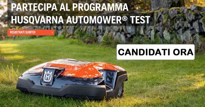 Diventa tester del robot tagliaerba Husqvarna Automower