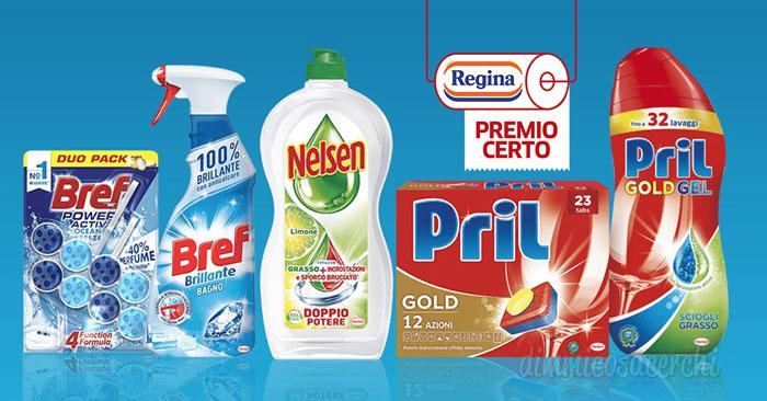 Il pulito è di casa 2018: 5€ di buoni sconto Regina