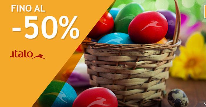 Italo Treno offerte di Pasqua