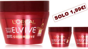 Maschera per capelli l'Oréal Paris Elvive Color Vive a solo 1,99€