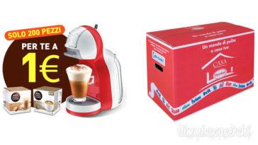 Nescafè Mini Me + capsule a solo 1€con Casa Henkel