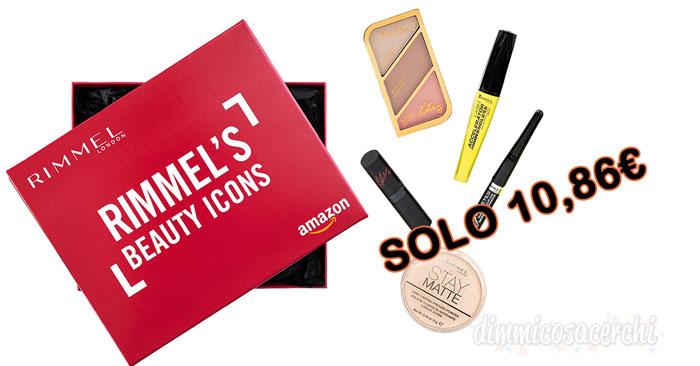Rimmel London beauty box: 5 prodotti soli 10€!