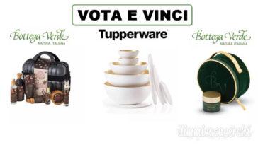 Super brands pop Award: vota e vinci Bottega Verde e Tupperware