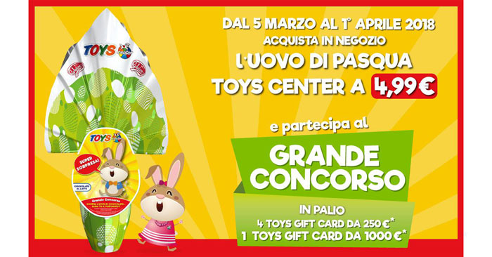 Uova di Pasqua Toys center