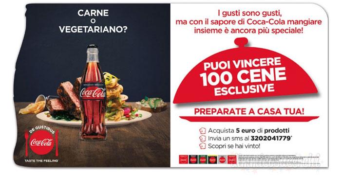 Vinci 100 cene con Chef per 4 persone con Coca-Cola