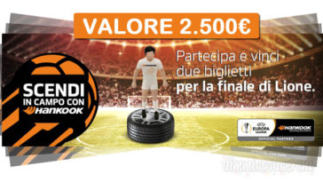 Vinci gratis 2 biglietti per la finale UEFA Europa League di Lione
