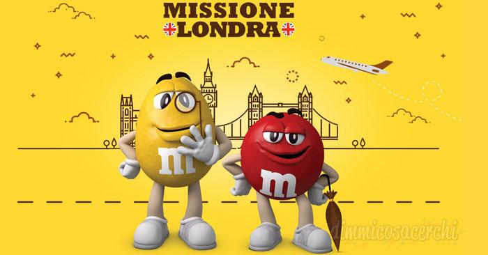 Vinci un viaggio a Londra con M&M