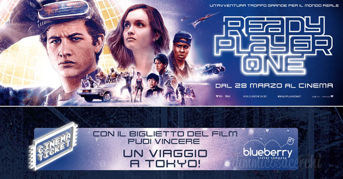 Vinci viaggio a Tokio con Ready Player One e UCI Cinemas