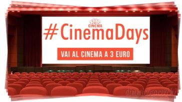 Ad Aprile tornano i CinemaDays!