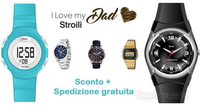 Codice sconto Stroili Oro per la festa del papà