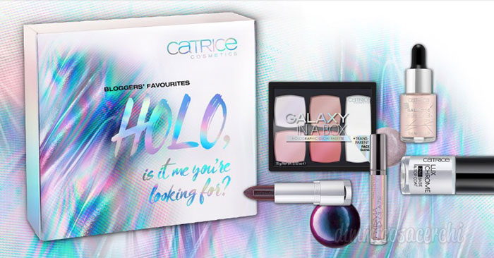 Concorso Catrice: vinci 10 Holo box contenenti 9 prodotti make-up