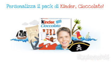 concorso cioccolato kinder