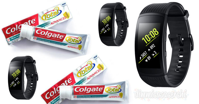 Concorso Colgate: vinci smartwatch Samsung