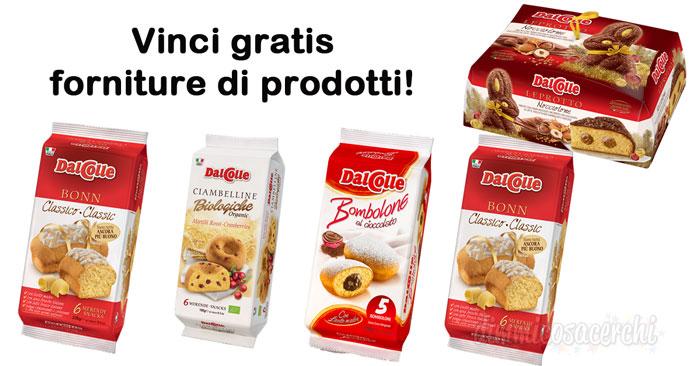 Vinci gratis una fornitura di prodotti Dal Colle