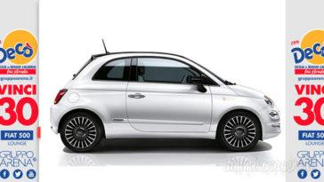 """Concorso """"Con Decò fai strada"""": vinci una Fiat 500 al giorno!"""