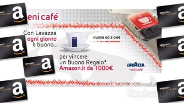 """Concorso Lavazza """"Ogni giorno buono"""": vinci buono Amazon da 1.000€!"""