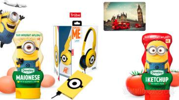 Concorso Develey: vinci cuffie Minions e viaggio a Londra