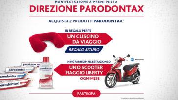 Concorso Parodontax: vinci scooter Piaggio Liberty