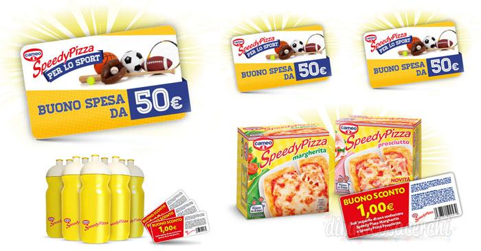 Concorso Speedy Pizza: vinci buoni spesa e buoni sconto