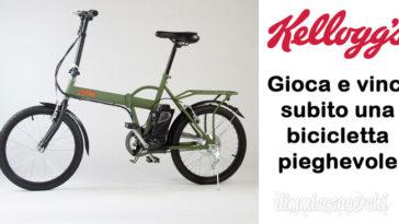 Vinci biciclette pieghevoli IFM con Kellogg's