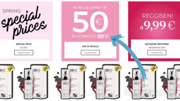Yamamay ti regala 50,00€ in cosmetici Barò!
