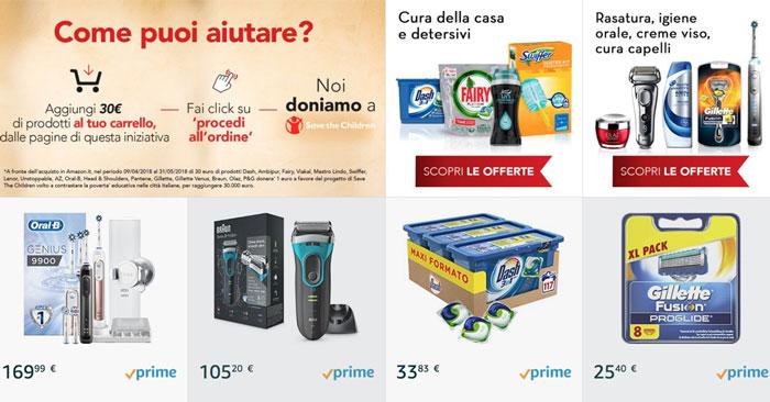 Amazon e P&G insieme