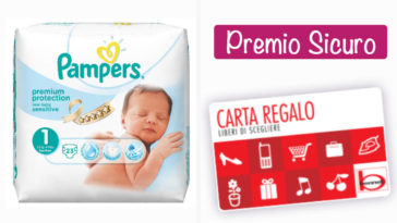 Bennet Card: in regalo con i pannolini Pampers