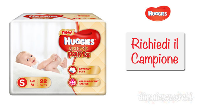 Campione omaggio Huggies Extra Care