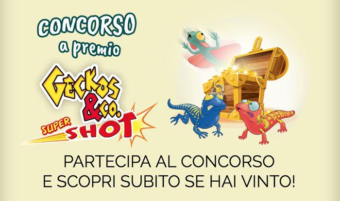 "Concorso De Agostini ""Geckos&Co Supershot"