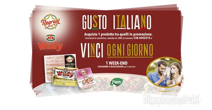 Concorso Gusto Italiano Aia: vinci weekend per due persone