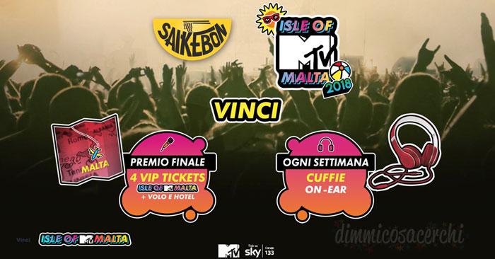 Concorso Saikebon MTV: vinci cuffie Beats e soggiorni a Malta