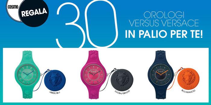 Cosmopolitan: vinci 30 Orologi Fire Island Bicolor con bag Versus di Versace