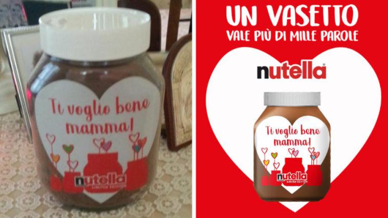 Festa della mamma Nutella: ecco il vasetto