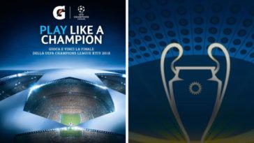 Gioca con il bot Gatorade Train&Play: vinci Finale della UEFA Champions League 2018