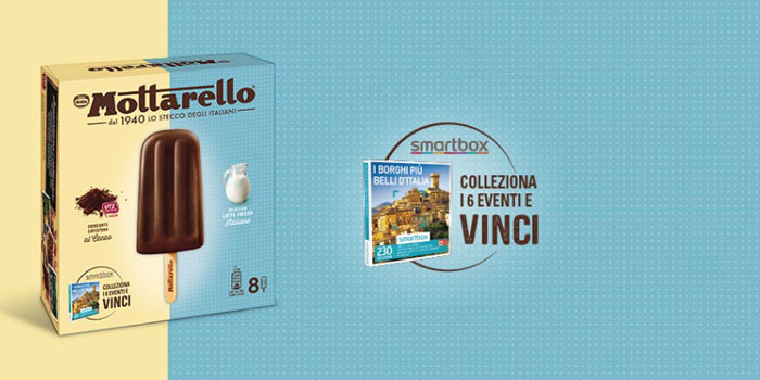 Mottarello Motta: in regalo Cofanetto SmartBox