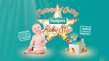 Pampers Baby Star: vinci un anno di pannolini